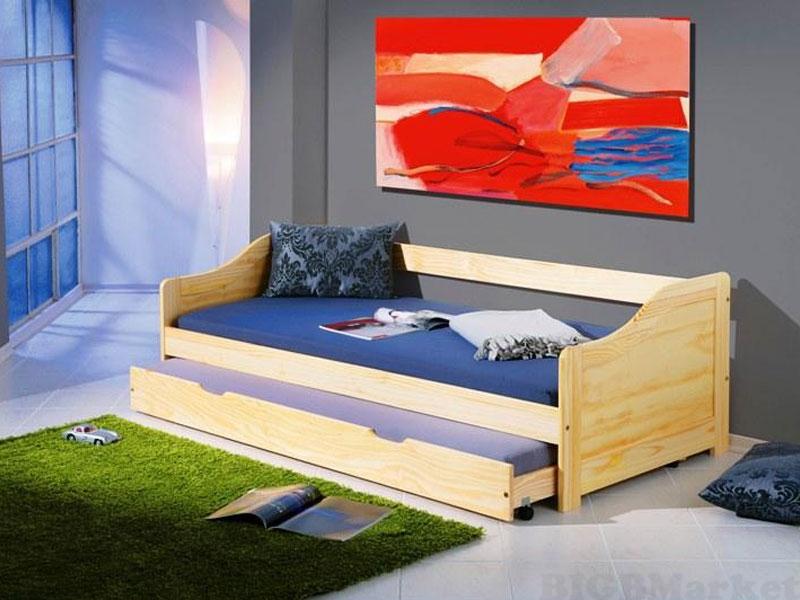 Dwuosobowe łóżko Młodzieżowe Laura Sosna