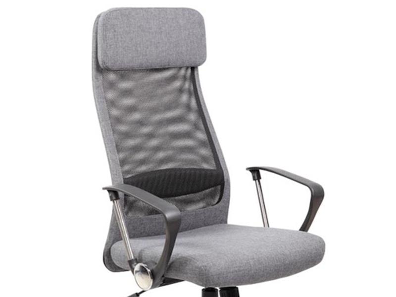Modne ubrania Fotel biurowy Q-345 szary siatka TILT Q345 SIGNAL DB76